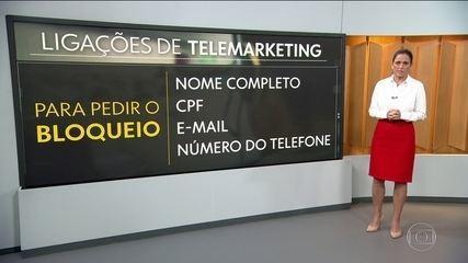 Sistema que bloqueia ligações indesejadas de telemarketing entra em operação
