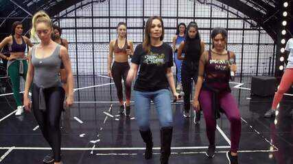 Veja preparação de Solange Almeida para a final do 'Show dos Famosos'