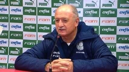 Veja um trecho da entrevista de Felipão após a eliminação do Palmeiras