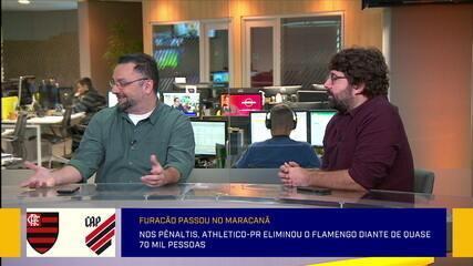 Comentaristas fazem análise das cobranças dos pênaltis do Flamengo