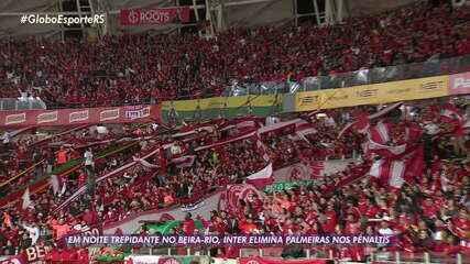 Inter despacha o Palmeiras em noite emocionante na Copa do Brasil