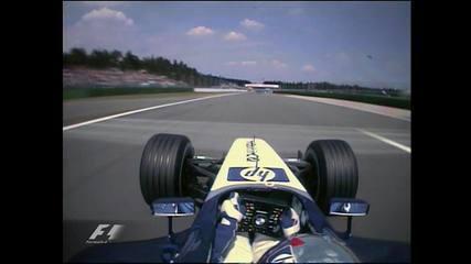 Pole position de Juan Pablo Montoya para o GP da Alemanha de 2003, em Hockenheim