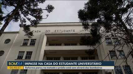 Impasse na Casa do Estudante Universitário