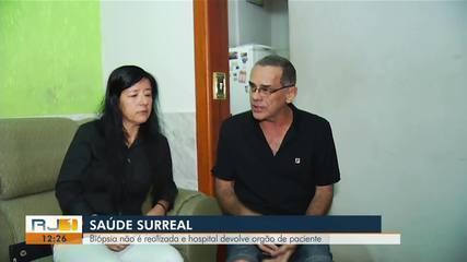Biópsia não é realizada e hospital devolve órgão de paciente em pote de plástico