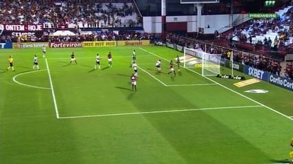Os melhores momentos de Atlético-GO 1x2 Botafogo-SP pela Série B