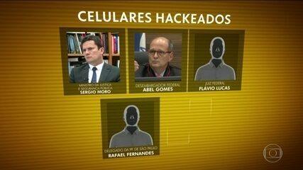PF prende quatro suspeitos de roubar dados do celular de Moro