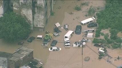 Chuva deixa mortos e desabrigados na Região Metropolitana do Recife