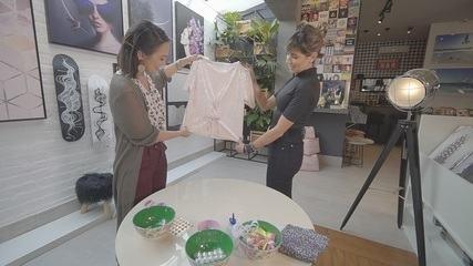 Cris Ikeda mostra dicas de customização de roupas