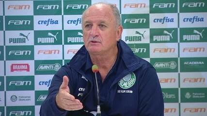 Felipão comenta empate com o Vasco e diz que Palmeiras está pagando preço bem alto por erros