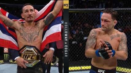 Max Holloway venceu Frankie Edgar por decisão unânime no UFC 240