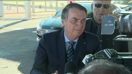 """Bolsonaro sobre hackers: """"espero que a PF chegue aos finalmentes"""""""