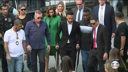 Polícia encerra inquérito e decide não indiciar o jogador Neymar