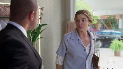 Paloma é demitida e desabafa contra Eugênia e Nana