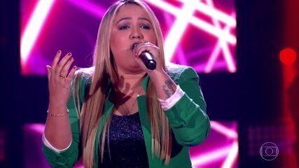 "Rebeca Lindsay canta ""Disk Me"""