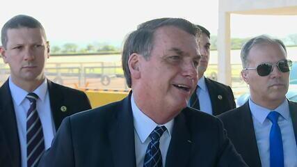Bolsonaro fala sobre troca de integrantes da comissão especial sobre mortos políticos