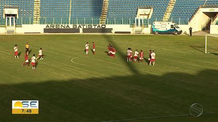 Sergipe é goleado pelo Inter e se despede da Copa do Brasil sub-17; assista aos gols!