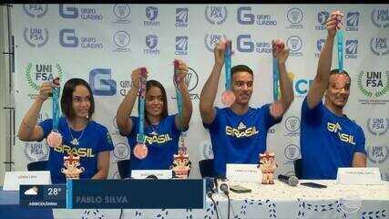 Piauienses conquistam 3 das 5 medalhas do Brasil no Pan