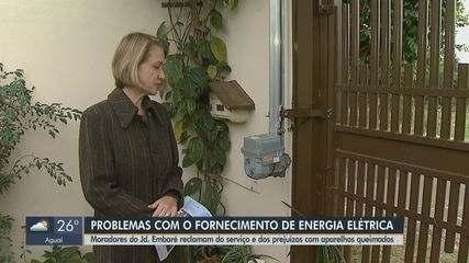 Moradores de São Carlos têm aparelhos queimados por oscilações na eletricidade