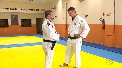 Pai e filho se preparam para Campeonato Sul-americano de Judô