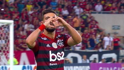 Os gols de Flamengo 3 x 1 Grêmio pela 14ª rodada do Campeonato Brasileiro
