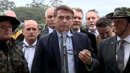 Bolsonaro anuncia R$ 100 milhões para obras da BR-116