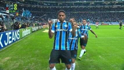 Os gols de Grêmio 2 x 0 Athletico-PR pela semifinal da Copa do Brasil 2019