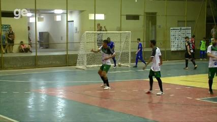 Gol do Junior Carapiá (JES) - JES 2 x 2 Piauí