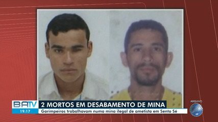 Dois garimpeiros morrem após desabamento de parte de mina de ametistas em Sento Sé