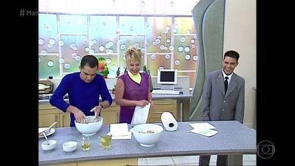 Ana Maria recorda participações de Zezé Di Camargo & Luciano na cozinha