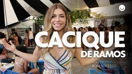 Samba! Elenco mostra bastidores de gravação no Cacique de Ramos