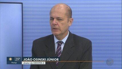 Diretor do Deinter-3 comenta índices de violência na região de Ribeirão Preto, SP