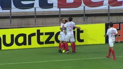 O gol de Fortaleza 0 x 1 Internacional pela 15ª rodada do Campeonato Brasileiro