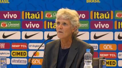 """Em primeira convocação, Pia Sundhage fala sobre Marta: """"Muito importante para o time"""""""