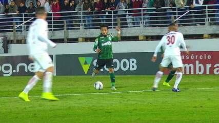 Melhores momentos: Bragantino 1 x 1 Coritiba pela Série B do Campeonato Brasileiro