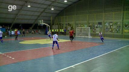 Taça Clube de Futsal - Gol de Paulo Vitor, do Filipenses