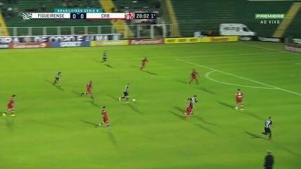 Os gols de Figueirense 2 x 2 CRB, pela 18ª rodada da Série B do Brasileiro