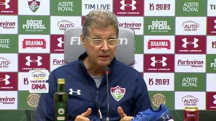 Técnico Oswaldo de Oliveira é apresentado no Fluminense