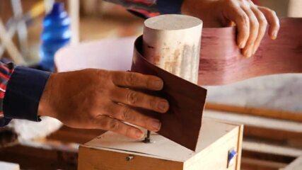 'Estúdio C' mostra como são produzidas as violas caipiras no norte do Paraná