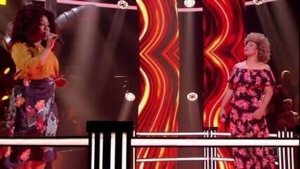 Bruna de Paula e Rosana Brown cantam 'Coração em Desalinho'