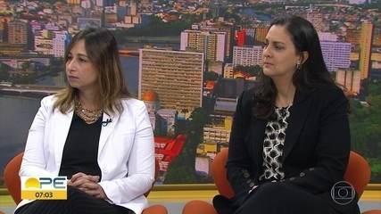 #TodosPorElas: juíza e delegada comentam casos de feminicídio em Pernambuco
