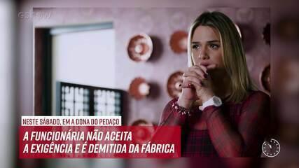 Resumo do dia - 31/08 – Fabiana diz para Britney trabalhar com roupas masculinas