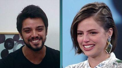 Rodrigo Simas declara seu amor por Agatha Moreira