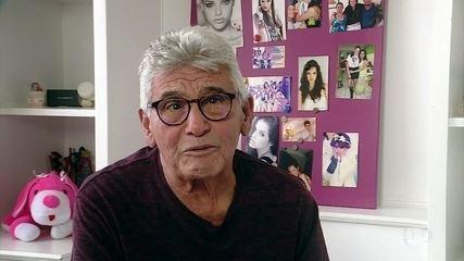 Antônio Moreira, pai de Agatha, conta que se emocionou com cena de 'A Dona do Pedaço'