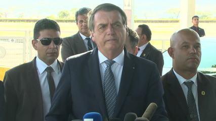 'Deve chegar a quase 20 vetos', diz Bolsonaro sobre projeto de abuso de autoridade