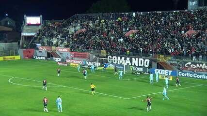 O gol de Brasil de Pelotas 1x0 Londrina
