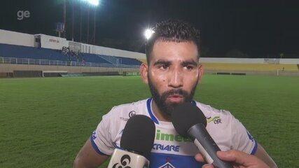 """""""Trabalhar mais forte em busca da classificação em Belém"""", diz autor de gol da vitória"""