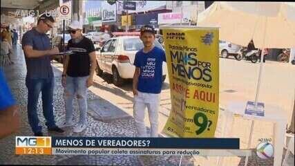 Iniciativa popular quer reduzir salários de vereadores em Patos de Minas