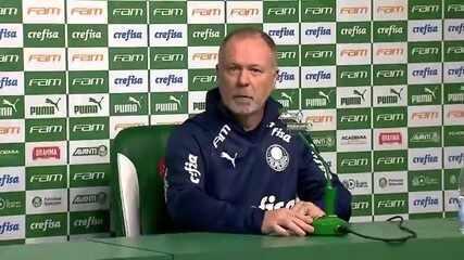 Mano Menezes responde primeiras perguntas como técnico do Palmeiras
