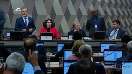 CCJ do Senado aprova a proposta da Reforma da Previdência