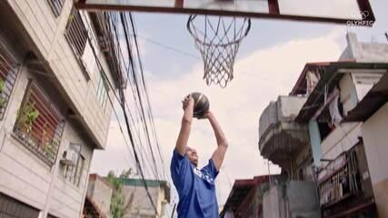 A febre do basquete nas ruas das Filipinas